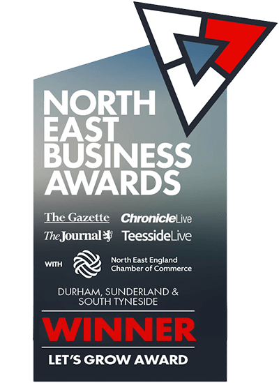 North East Business Awards Regional Winner